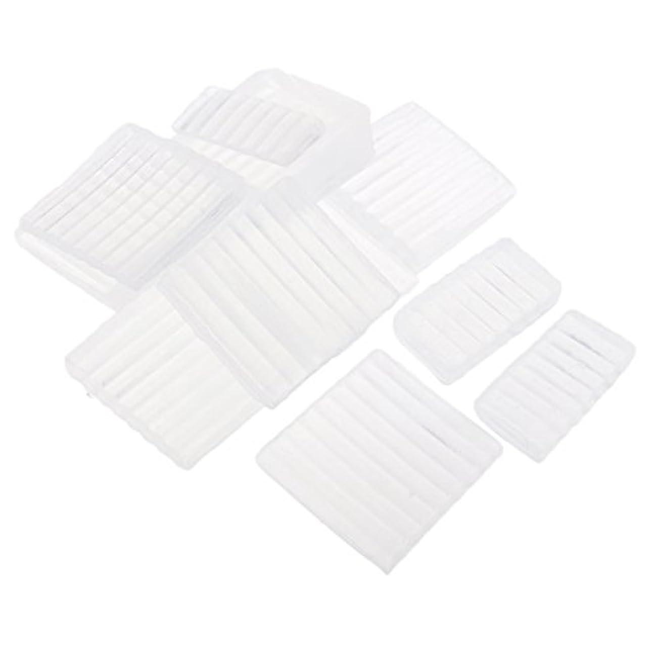 経済的アライアンスアルファベットFenteer ホワイト 透明 石鹸ベース DIY 手作り 石鹸 材料 約500g