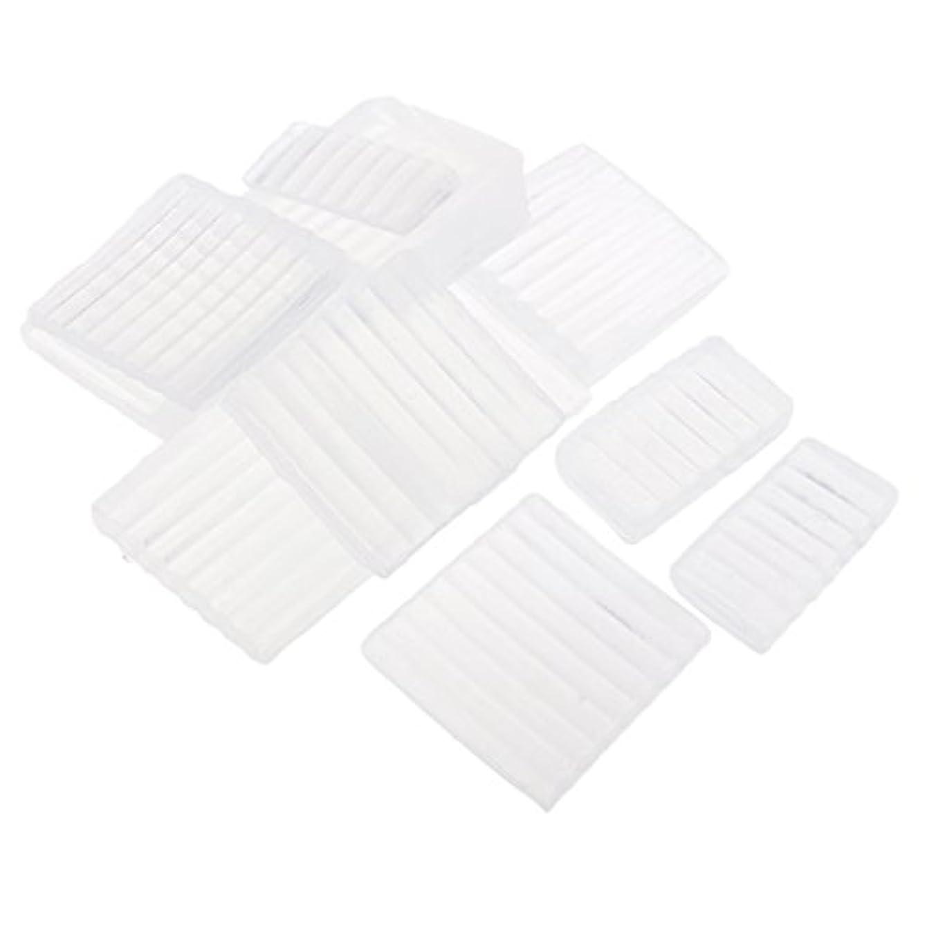プランテーションリンス放棄するホワイト 透明 石鹸ベース DIY 手作り 石鹸 材料 約500g