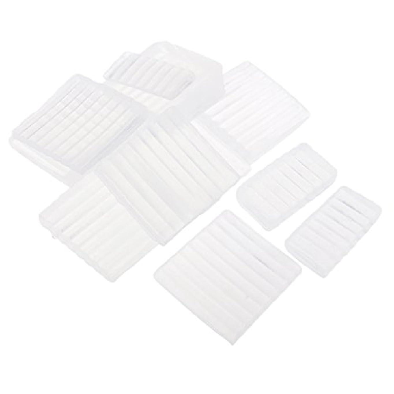 ダイアクリティカル機械ミッションFenteer ホワイト 透明 石鹸ベース DIY 手作り 石鹸 材料 約500g