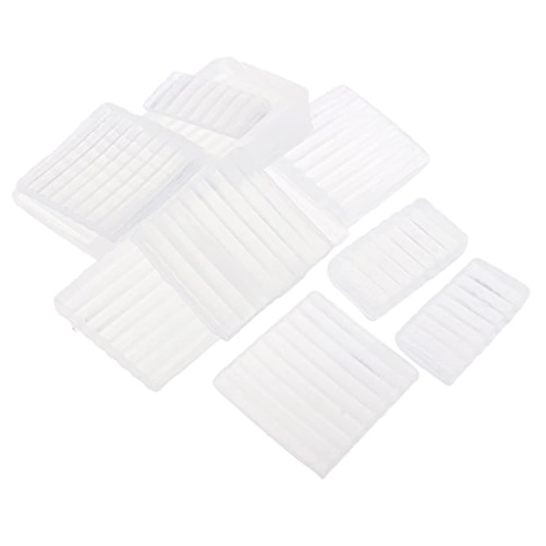 群衆共役フィットFenteer ホワイト 透明 石鹸ベース DIY 手作り 石鹸 材料 約500g