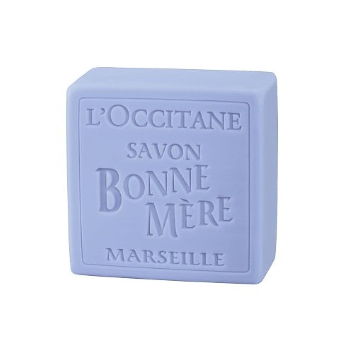 インチ耳魅力的ロクシタン(L'OCCITANE) ボンメールソープ ラベンダー 100g
