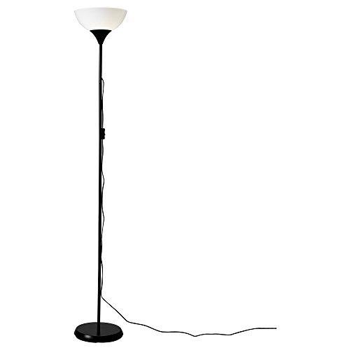 RoomClip商品情報 - ノート / NOT / フロアアップライト / ブラック / ホワイト[イケア]IKEA(30139878)