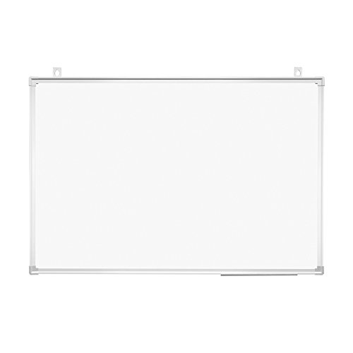 プラス ホワイトボード 壁掛け 幅900×高さ600mm PWK-0906SS マーカー・イレーザーセット 428-170