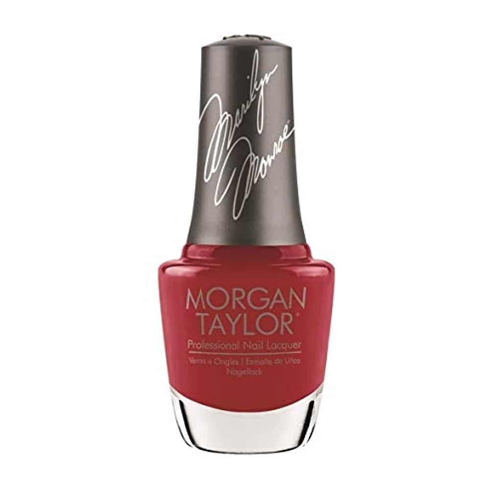 ドライ夜明けにバブルMorgan Taylor Nail Lacquer - Forever Marilyn Fall 2019 Collection - Classic Red Lips - 15ml / 0.5oz