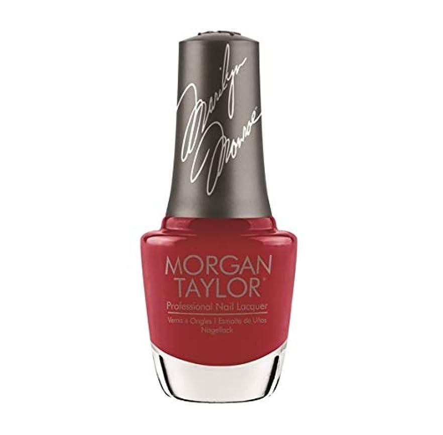 ウガンダ暗くするマイルドMorgan Taylor Nail Lacquer - Forever Marilyn Fall 2019 Collection - Classic Red Lips - 15ml / 0.5oz
