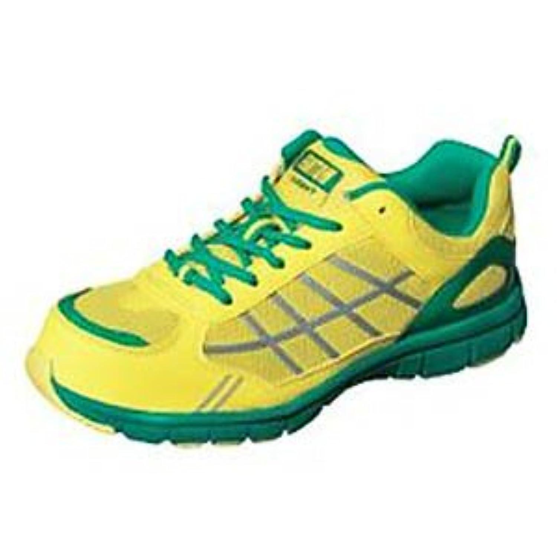 弘進ゴム/ファントムライトFL-550/安全作業靴 スニーカー サイズ:26.5cm カラー:イエロー