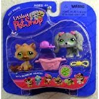 Littlest Pet Shop Pet Pairs: Dog & Cat by Hasbro [並行輸入品]