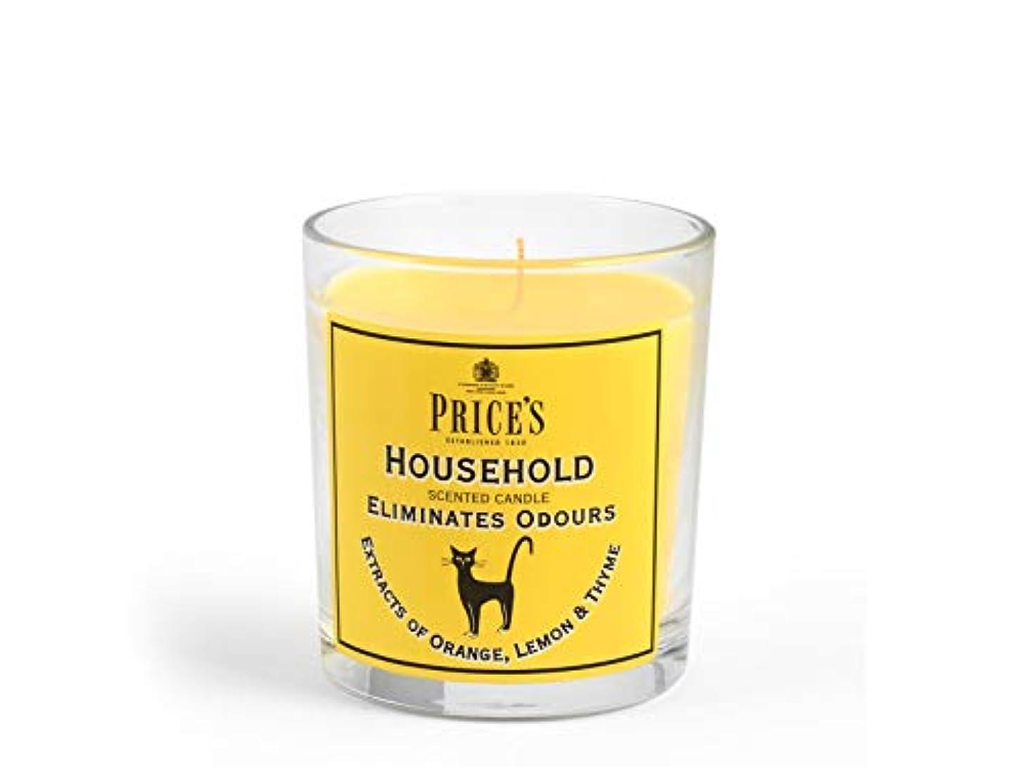 騒々しいハング穀物Price′s(プライシズ) Fresh Air CANDLE TIN Jar type (フレッシュエアー キャンドル ジャータイプ) HOUSE HOLD(ハウスホールド)