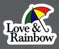 ステッカー Love&Rainbow R-602 純正ステッカー