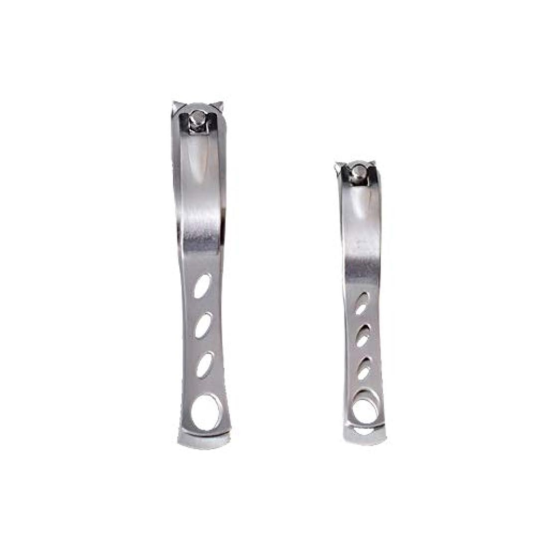 ブレーキ貼り直す金属ステンレス鋼の爪切り爪切り、革新的な360度回転のファッション爪切りマニキュアツールマニキュア作物ホーム別館2
