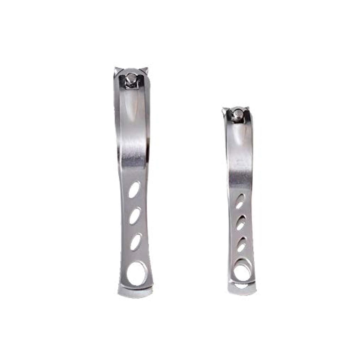 満員シャー表現ステンレス鋼の爪切り爪切り、革新的な360度回転のファッション爪切りマニキュアツールマニキュア作物ホーム別館2