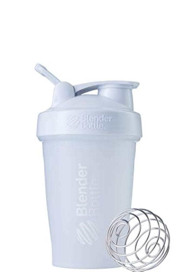 マリナーカロリー誤解を招くブレンダーボトル 【日本正規品】 ミキサー シェーカー ボトル Classic 20オンス (600ml) ホワイト BBCLE20 FCWH