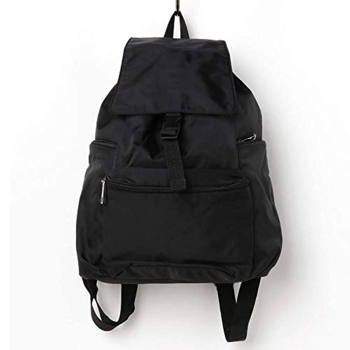 大洪水状況黒人ninon ニノン ナイロン リュック レディース スポーツ A4サイズ収納可 大容量 通勤バッグ