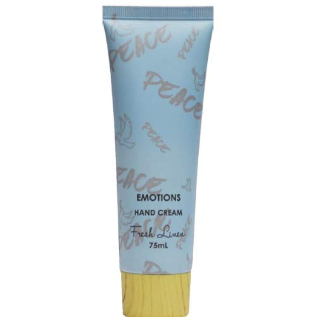 アルコーブ項目小麦三和トレーディング EMOTIONS エモーション Hand Cream ハンドクリーム Peace ピース(Fresh Linen フレッシュリネン)