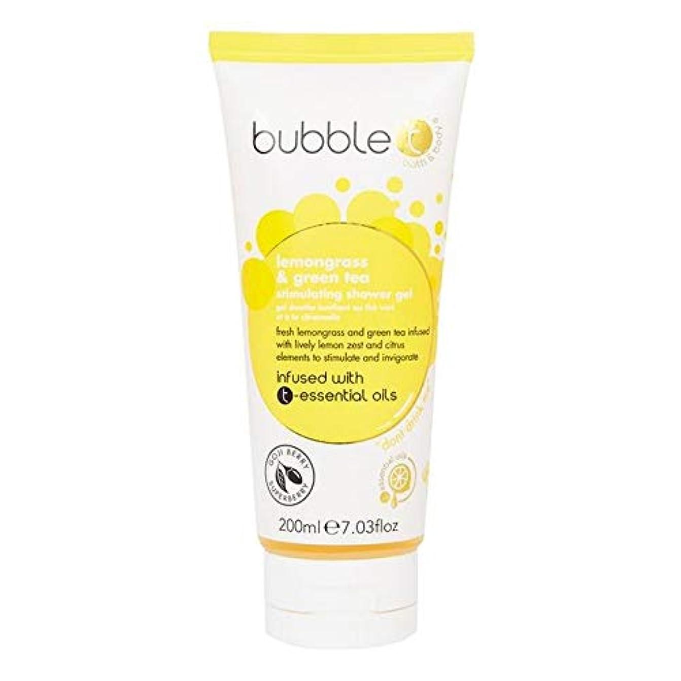 [Bubble T ] バブルトン化粧品シャワージェル、レモングラス&緑茶200ミリリットル - Bubble T Cosmetics Shower Gel, Lemongrass & Green Tea 200ml [...