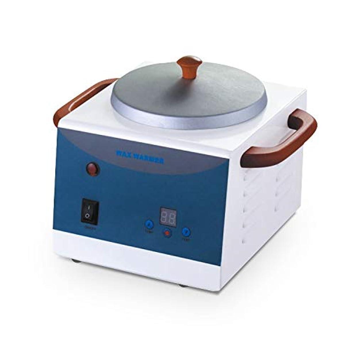 ビーチ後世縮れた500ML美容ワックスヒーターポット、ワックスウォーマー、プロフェッショナルサロンスパツールメルティングポット、調節可能な温度