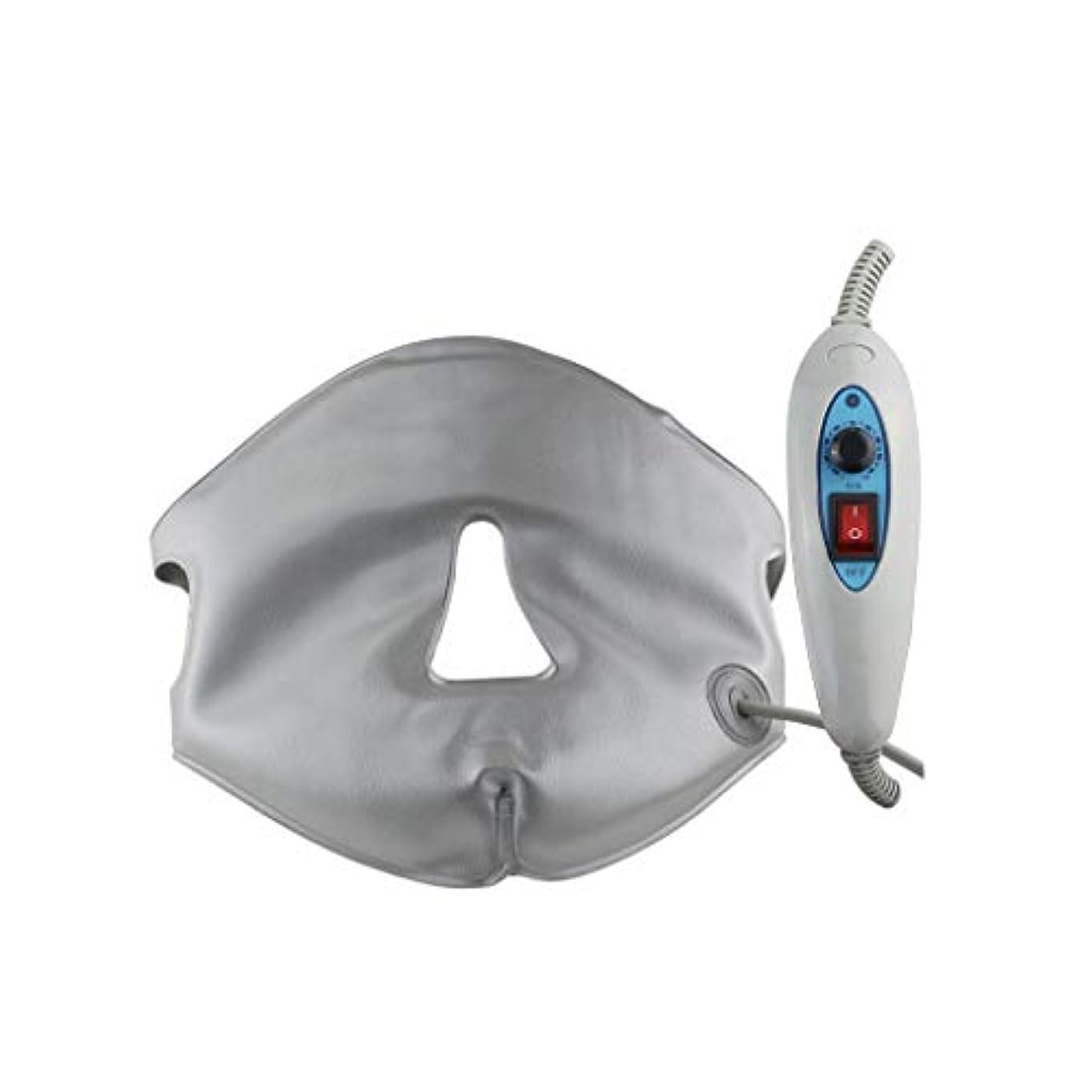XHLMRMJ フェイスリフティングマスク、フェイシャルスリミング、遠赤外線ホワイトニングと若返りホットコンプレス、フェイシャルマッサージ、ハイドレーティングVフェイスマスク、美容機器