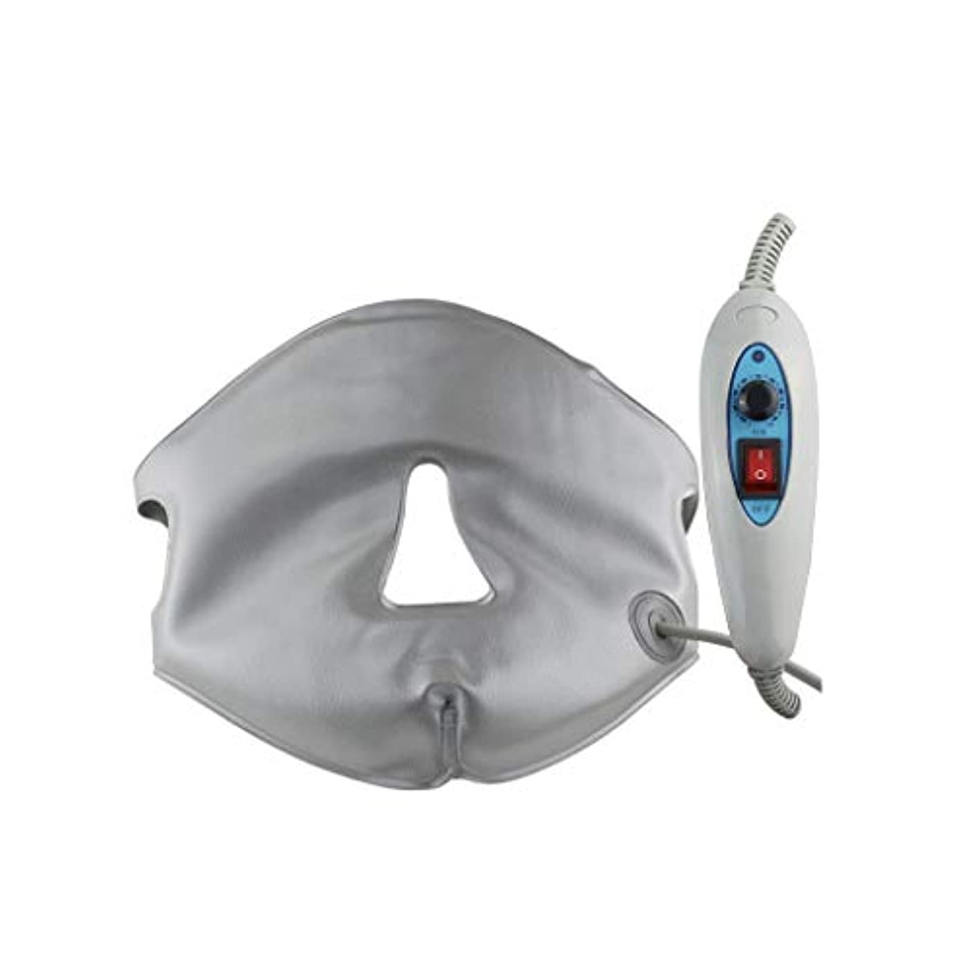 伴うアクセサリー十分なXHLMRMJ フェイスリフティングマスク、フェイシャルスリミング、遠赤外線ホワイトニングと若返りホットコンプレス、フェイシャルマッサージ、ハイドレーティングVフェイスマスク、美容機器