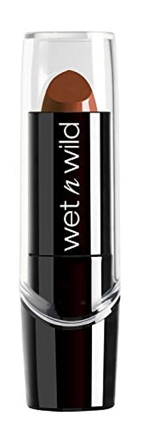 硫黄スケジュール道徳WET N WILD Silk Finish Lipstick - Mink Brown (DC) by Wet 'n' Wild