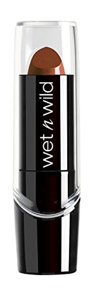 カップルペスト望まないWET N WILD Silk Finish Lipstick - Mink Brown (DC) by Wet 'n' Wild