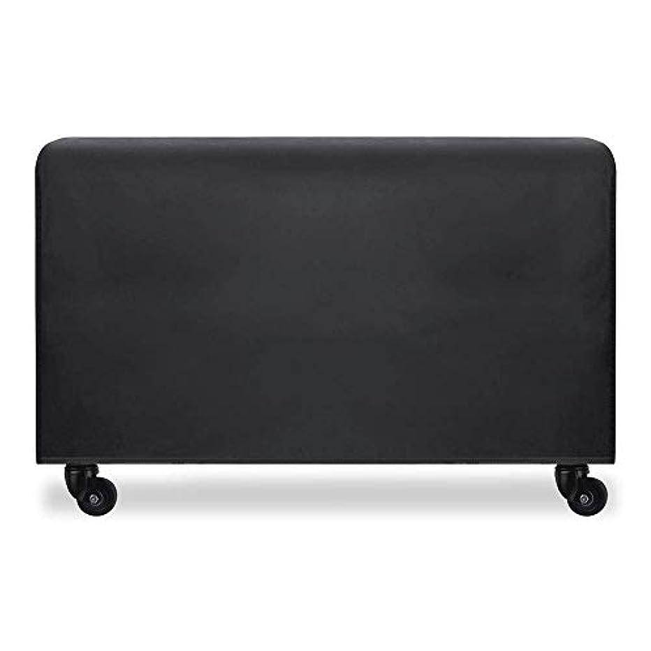 用量すごい狂人ZEMIN ターポリンタープ 家具 カバー 庭園 平方 保護 屋外 日除け 外部 防水性のある オックスフォード布、 カスタマイズ可能、 9サイズ (色 : 黒, サイズ さいず : 126x126x74cm)
