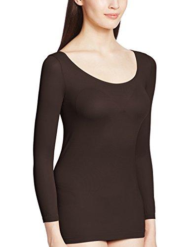 (アツギ)ATSUGI インナーシャツ 【日本製】着るタイツ 110デニール 8分袖インナー Uネック