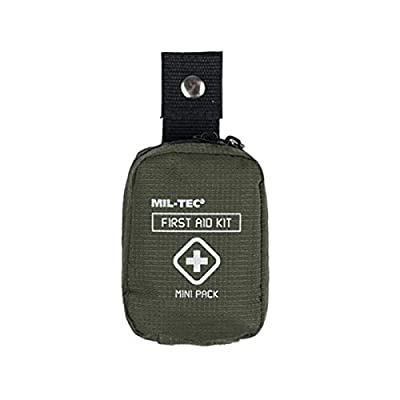 Mini Outdoor Hiking First Aid Pack - Olive Green