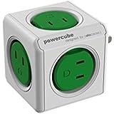 POWER CUBE キューブ型電源 5個口 緑 4190/JPORPC
