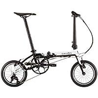 DAHON(ダホン) K3 ホワイト/ブラック 2019年モデル 14インチ 折りたたみ自転車