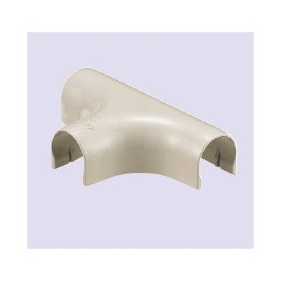 未来工業 ビニル電線管 VE管カバーチーズ ミルキーホワイト VEJ-22M 10個