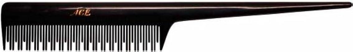 カメタイル造船Goody Ace Comb, Curl/Teasing, Black [並行輸入品]
