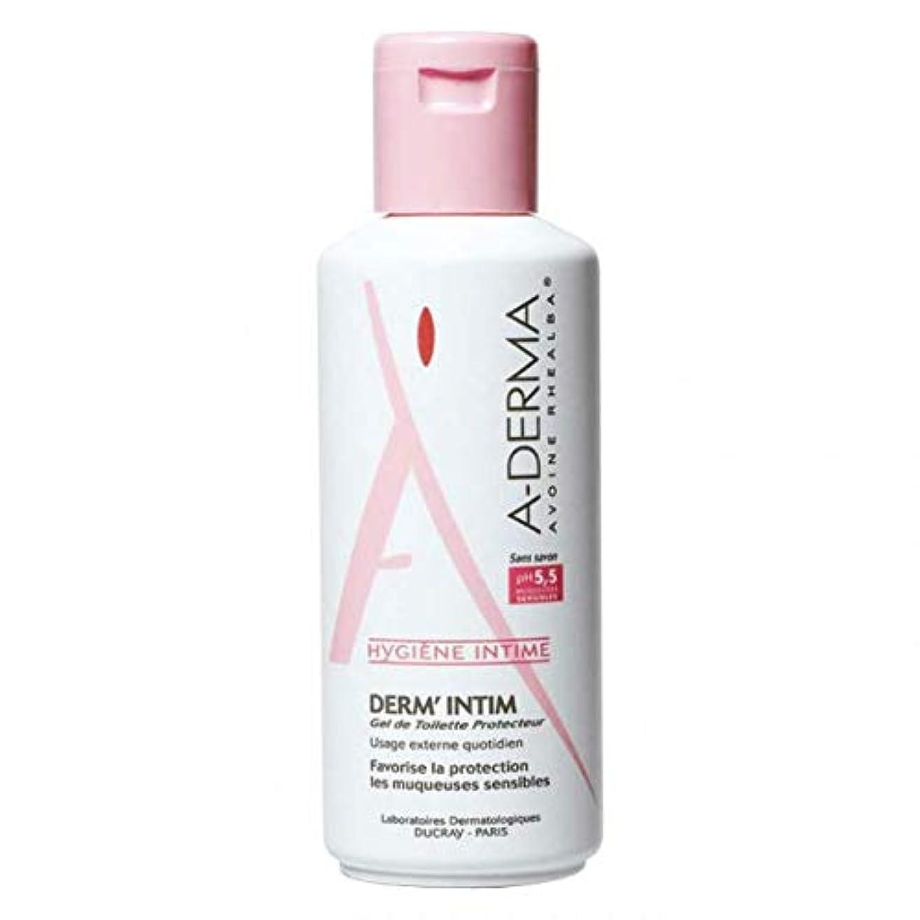 浴四回カプセルA-derma Dermintim Protective Cleansing Gel Ph 5.5 200ml [並行輸入品]