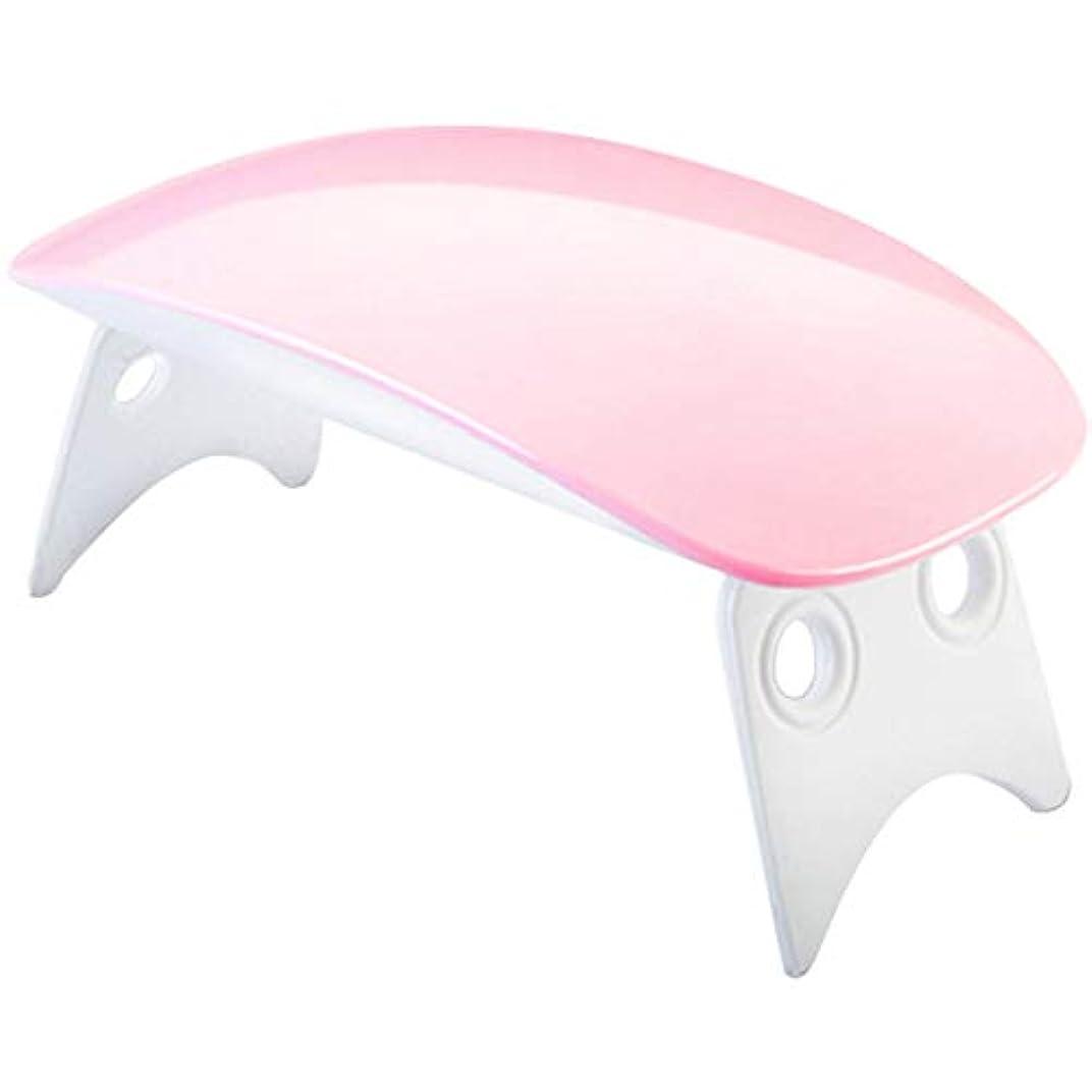 かすかな運営半球USBケーブル付きミニポータブル LEDネイルドライヤー ギフト用、家庭用および旅行用のマニキュアジェルドライヤー(01)