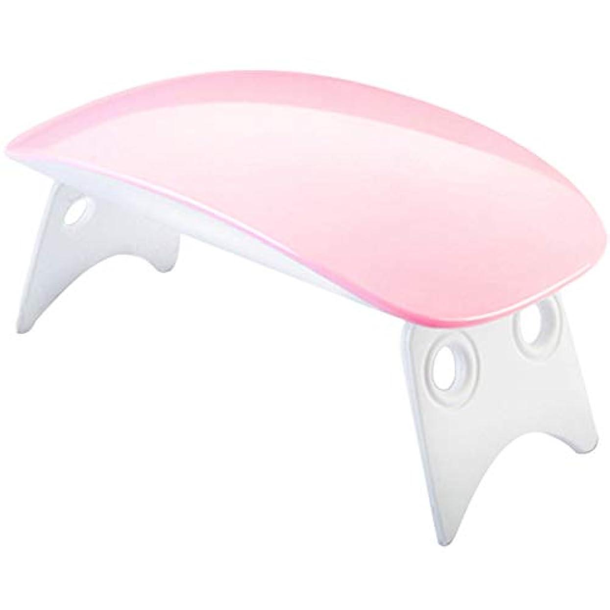 なにアイドル満員USBケーブル付きミニポータブル LEDネイルドライヤー ギフト用、家庭用および旅行用のマニキュアジェルドライヤー(01)