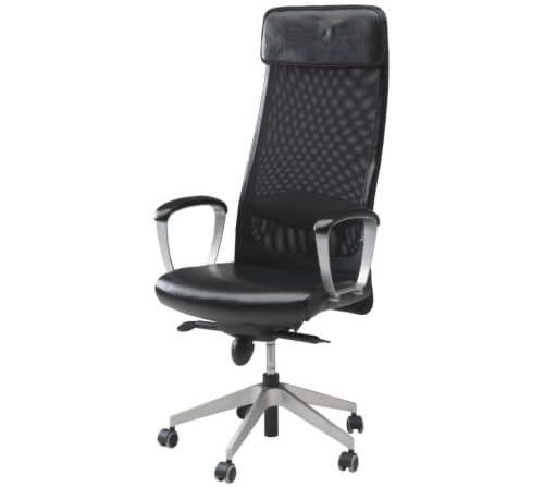 MARKUS/回転チェア/ブラック[イケア]IKEA(50137208)