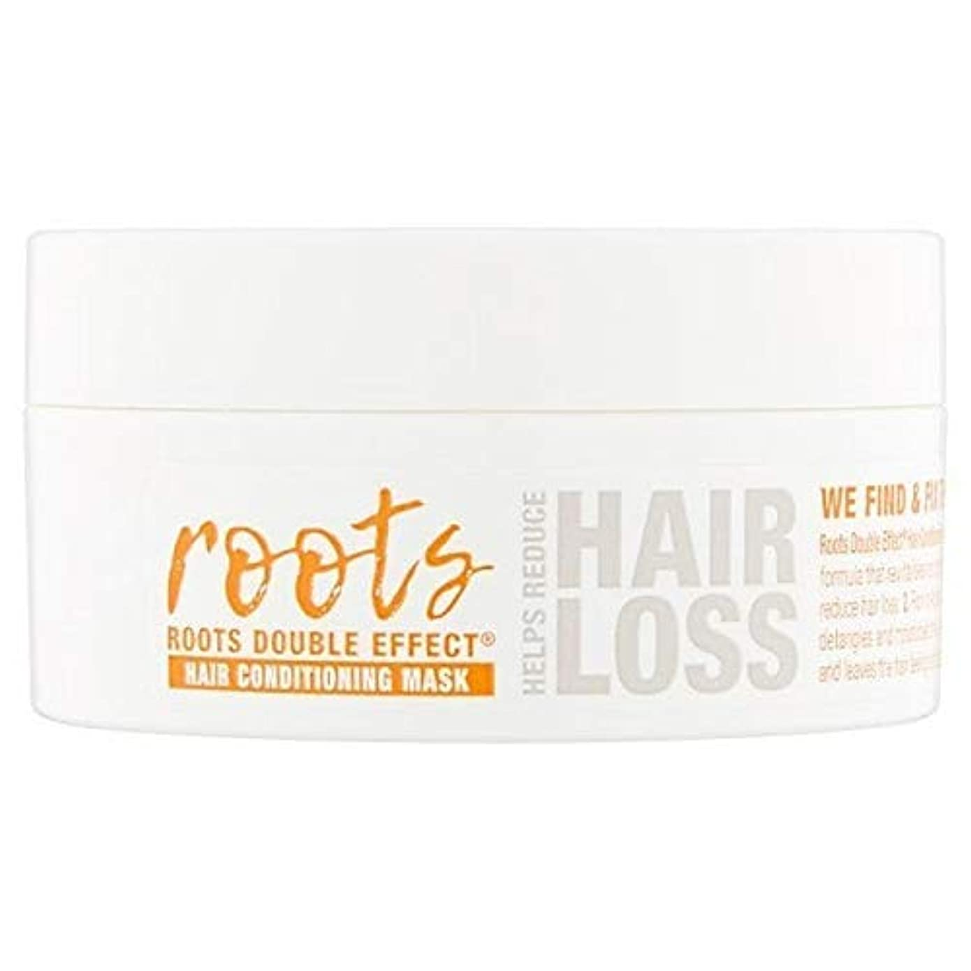 名声フィードポンド[Roots ] 根のダブル効果ヘアコンディショニングマスク200ミリリットル - Roots Double Effect Hair Conditioning Mask 200ml [並行輸入品]