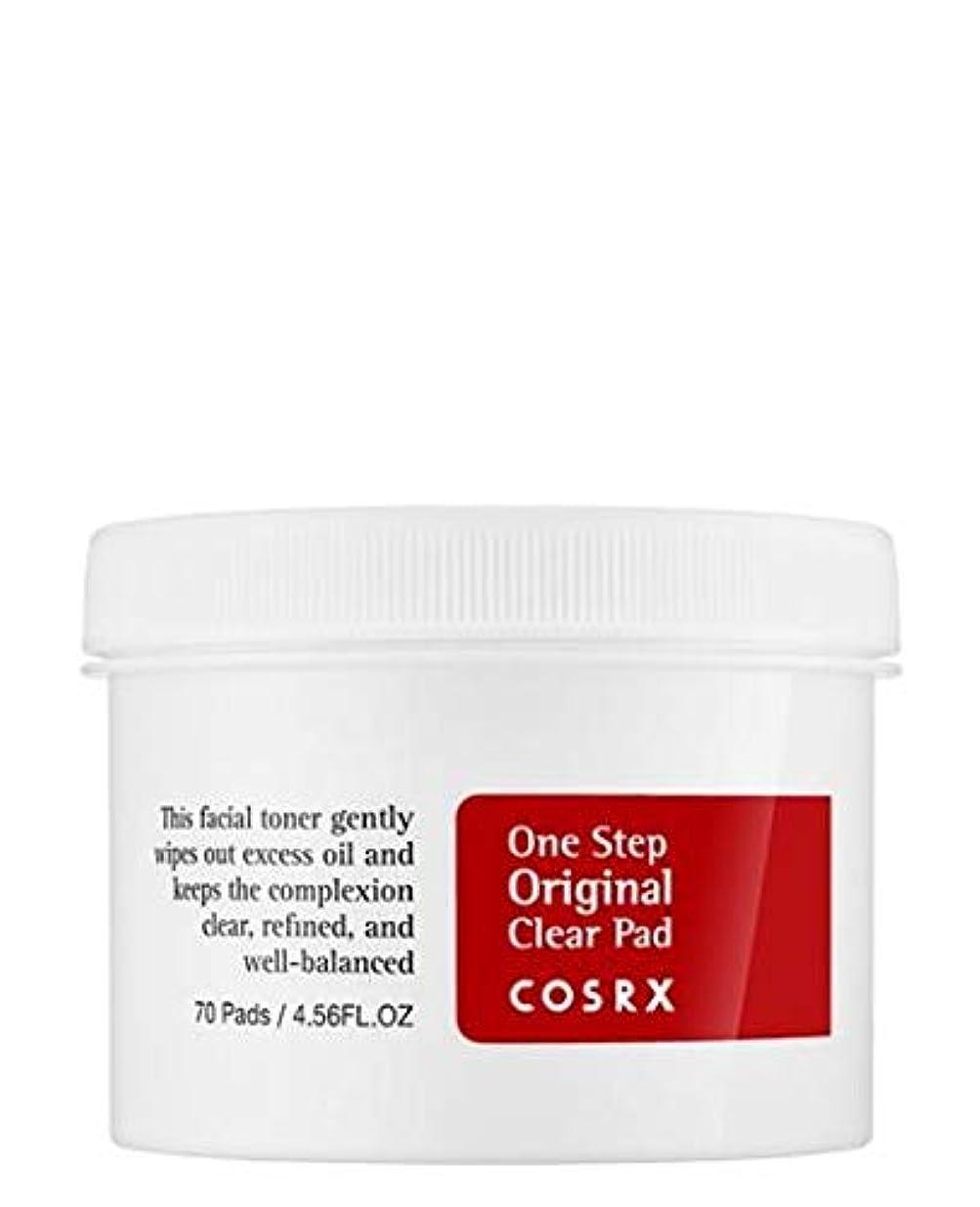 驚きあごひげ代表するコスアールエックス COSRX ワンステップ オリジナル クリアパッド 70枚入り 135ml
