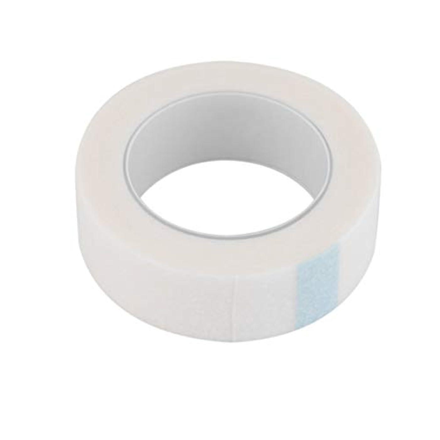 印象的カップルに頼る1ロール個別まつげエクステンションツール供給医療テープ医療まつげエクステンション微細孔ペーパーメイクアップ-ホワイト