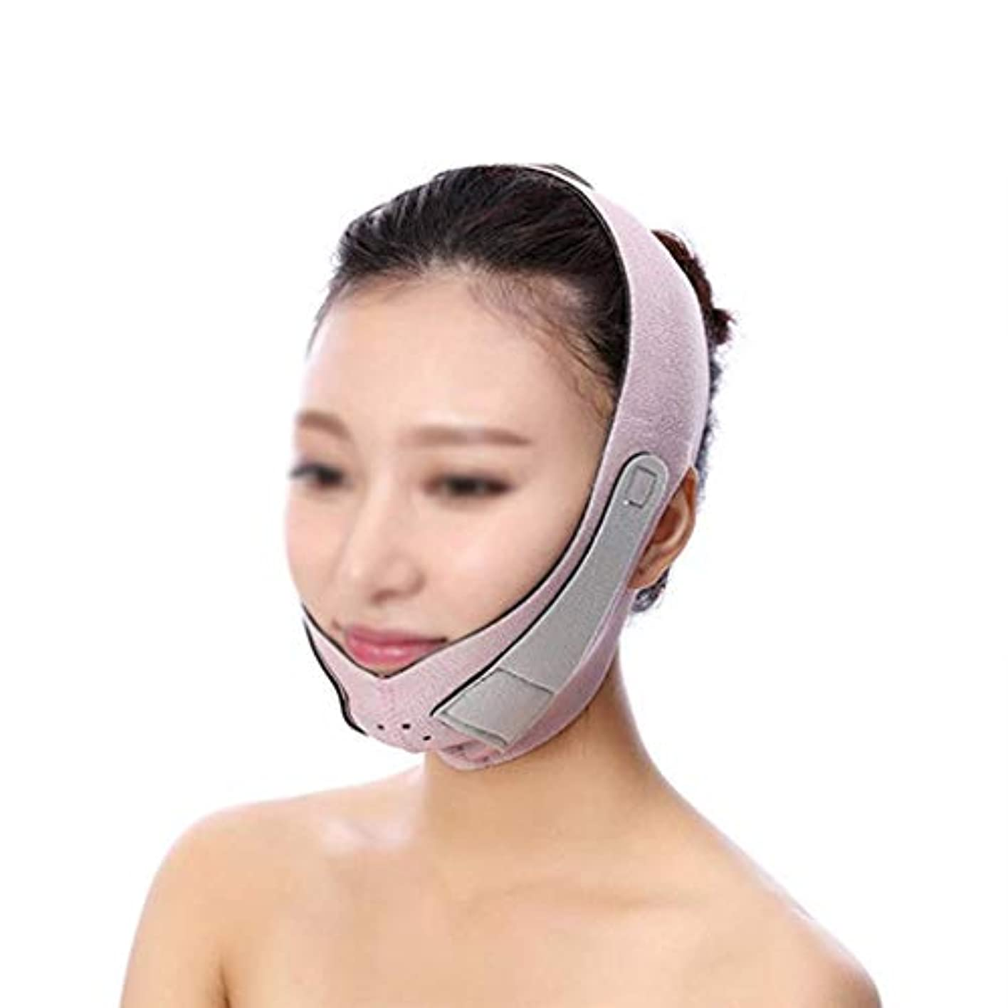 配管グラマー観客薄型フェイスマスク、フェイスリフティングに最適、フェイスバンドを持ち上げてスキン包帯を引き締める、チークチンリフティング、スキン包帯を引き締める(フリーサイズ)(カラー:オレンジ),紫の