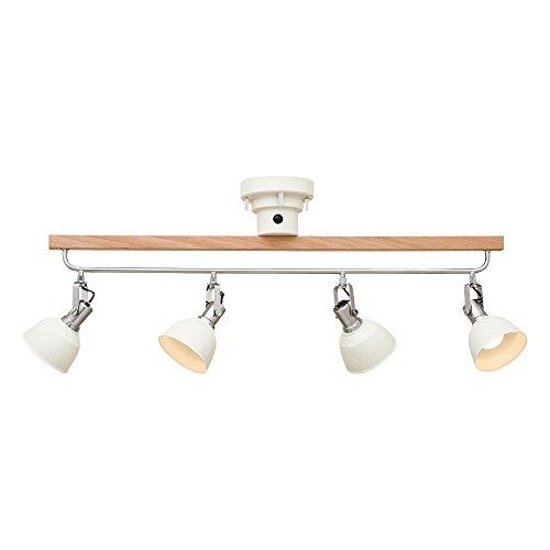 シーリングライト 4灯 LED電球付属 Clohars - クロアール - ホワイト 4.5畳~6畳 LT-1977WH インターフォルム(INTERFORM)