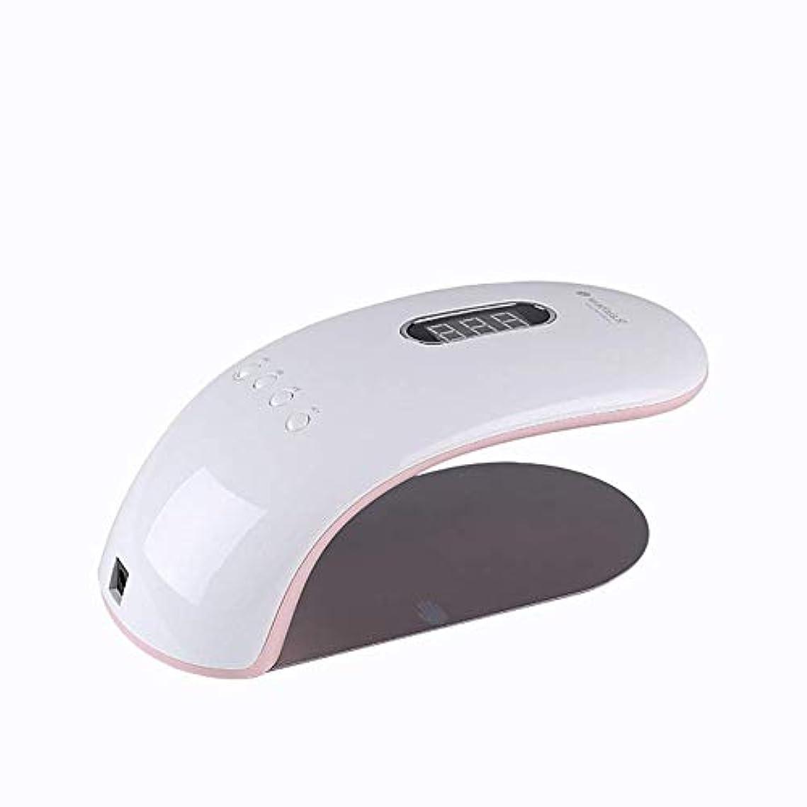 安価な不満女将ネイルランプ36ワットデュアル光源片側誘導ネイル半日光線療法ランプネイルマシン