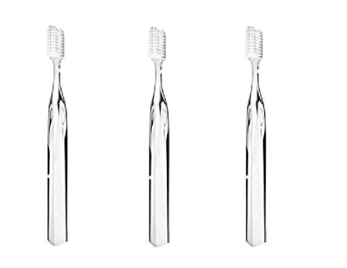 典型的なオーク十スーパースマイル オリジナル歯ブラシ クリア 3本セット (並行輸入品)