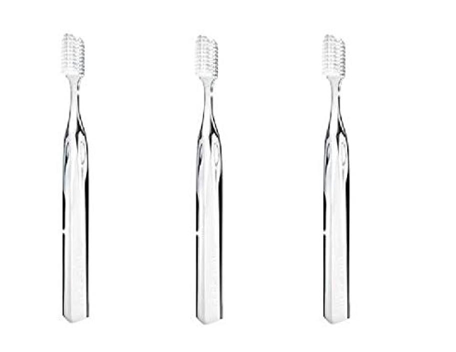 トレイル所有者砂のスーパースマイル オリジナル歯ブラシ クリア 3本セット (並行輸入品)