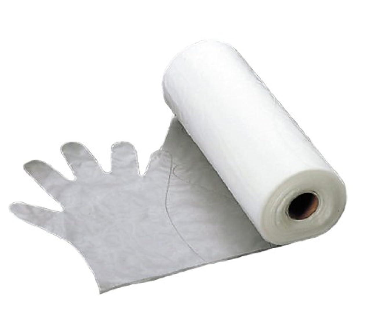 免疫する困惑する借りるエンボス 手袋 #30(五本絞り)200枚ロール巻 M 30μ
