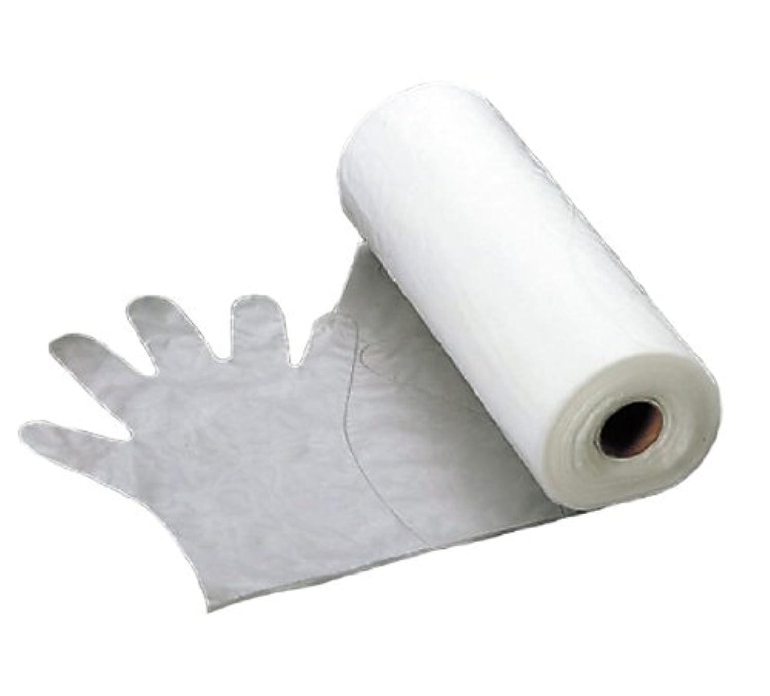 含むブートアレルギー性エンボス 手袋 #30(五本絞り)200枚ロール巻 M 30μ