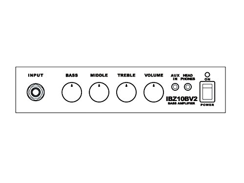 Ibanez アイバニーズ エレキ・ベース用10W 練習用アンプ IBZ10BV2