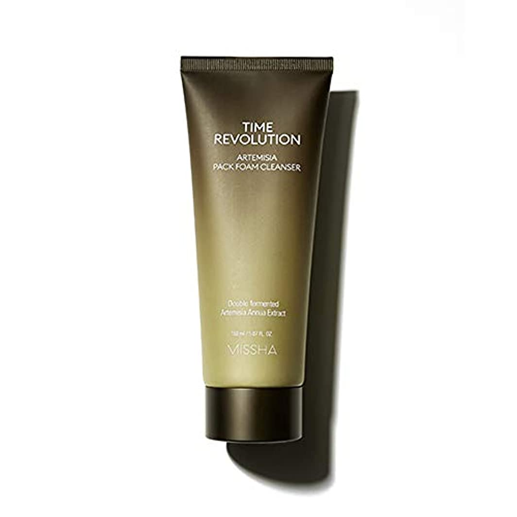 Missha Time Revolution Artemisia Pack Foam Cleanser 150ml ミシャ タイム レボリューション アルテミシア パック ィー フォームクレンザー [並行輸入品]