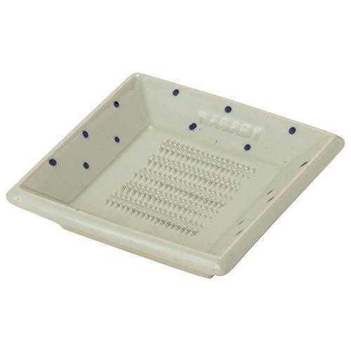 TAMAKI おろし皿 わさび 白 直径8.7×奥行8.7×高さ2cm 電子レンジ対応 日本製 T-762653
