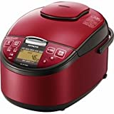 日立 圧力スチームIH炊飯ジャー 「圧力&スチーム 蒸気セーブ 極上炊き」(5.5合) RZ-RT10BK-R レッド