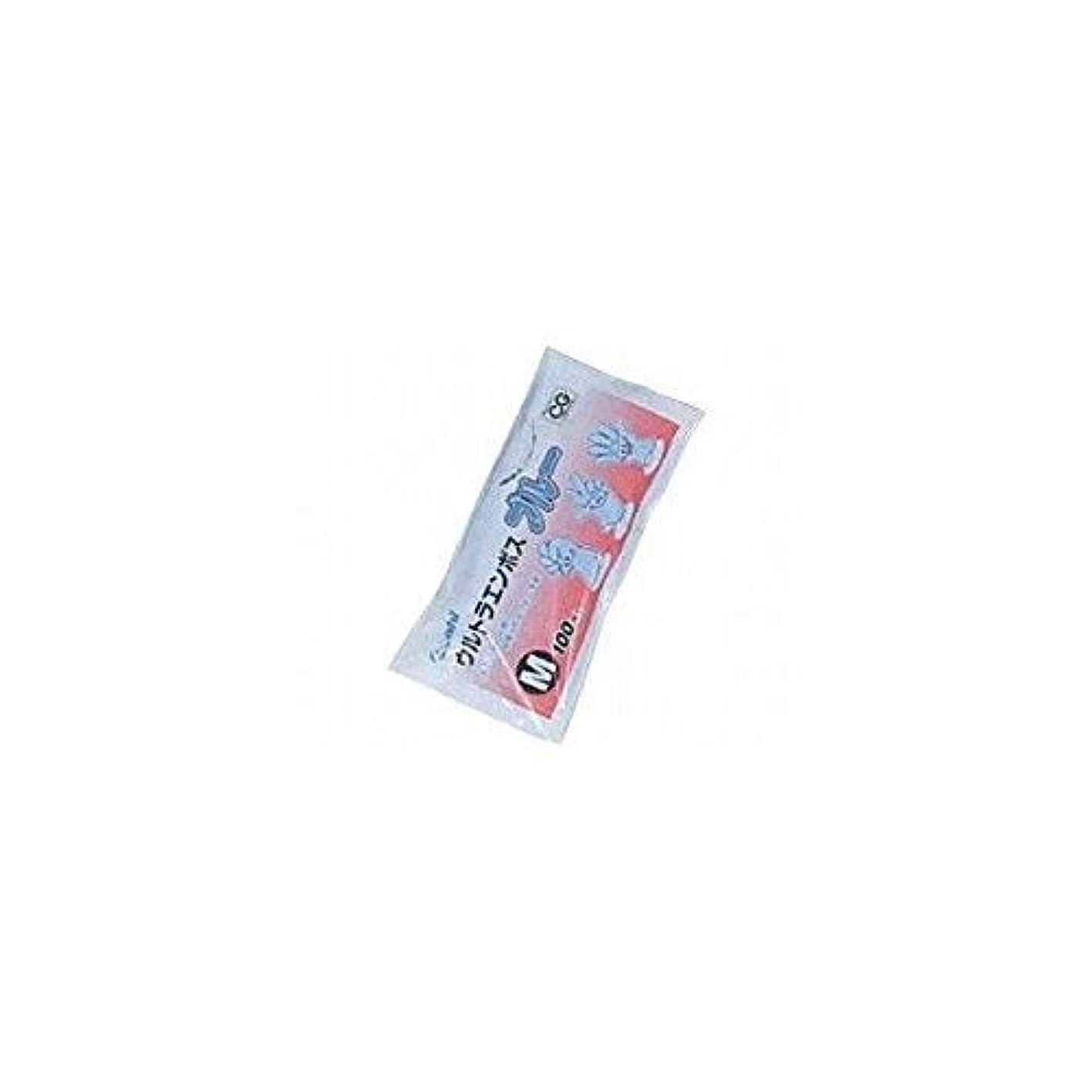 狭い義務づけるスポークスマンウルトラエンボス手袋 100枚袋入 / ブルー Mサイズ ケース(60袋入)